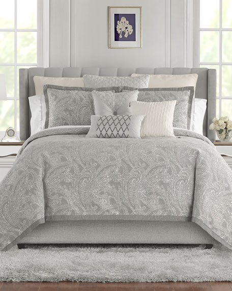 Waterford Aidan Reversible 4-Piece Queen Comforter Set