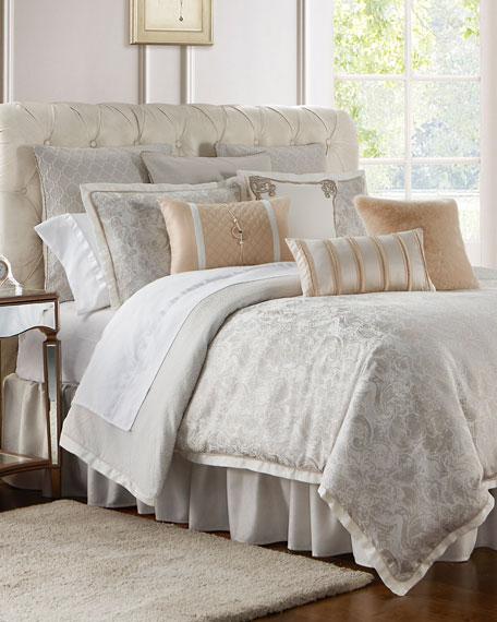 Waterford Belissa Reversible 4-Piece King Comforter Set