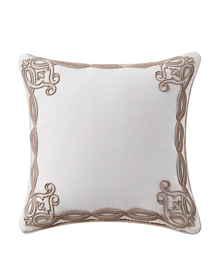 Waterford Belissa Embroidered Square Pillow