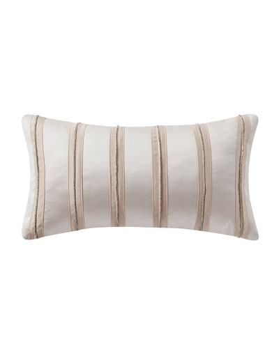 Belissa Crystal Applique Pillow