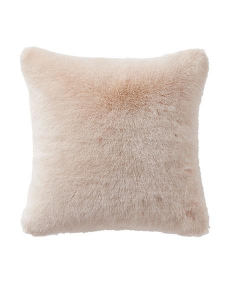 Waterford Belissa Faux-Fur Square Pillow