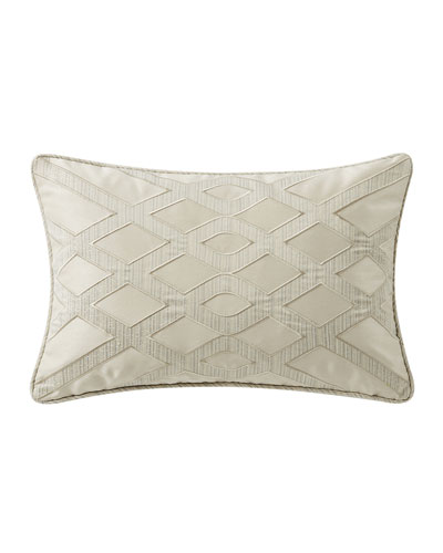 Daphne Applique Breakfast Pillow