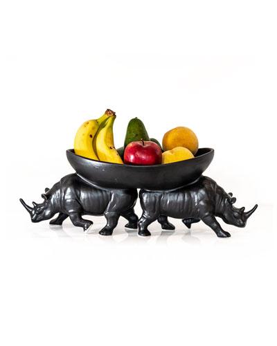 Two Rhino Bowl