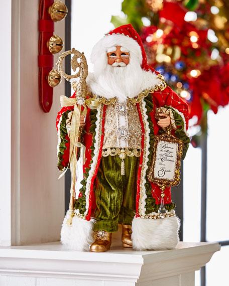 Karen Didion Originals Wonder of Christmas Santa