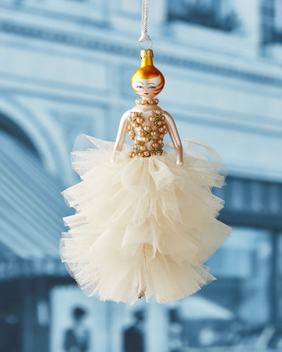 Allyson Tulle Gown Ornament