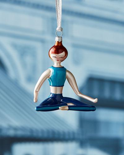 Lucy Sitting Yoga Ornament