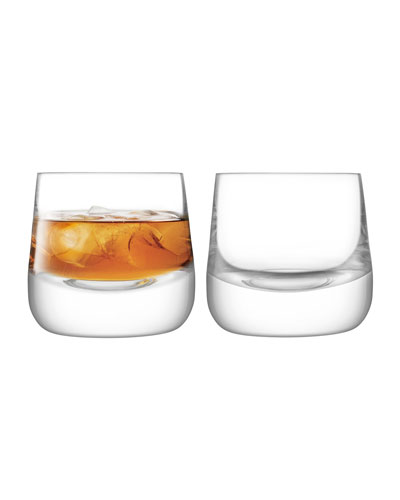 Bar Culture Whiskey Glasses  Set of 2