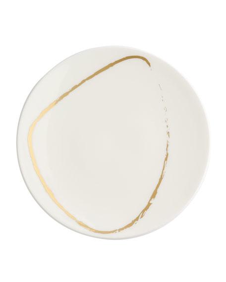 Royal Crown Derby Art Glaze Side/Canape Plate