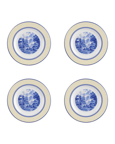 Giallo Salad/Dessert Plates, Set of 4