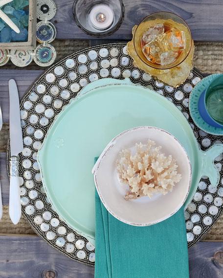 Vietri Melamine Lastra Fish Salad Plate