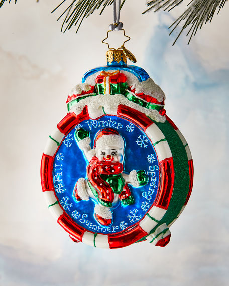 Christopher Radko Christmas Time Ornament