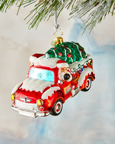 Christmas Tree Delivery Ornament