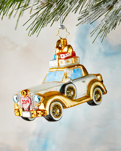 Wedding Bliss Chariot Ornament