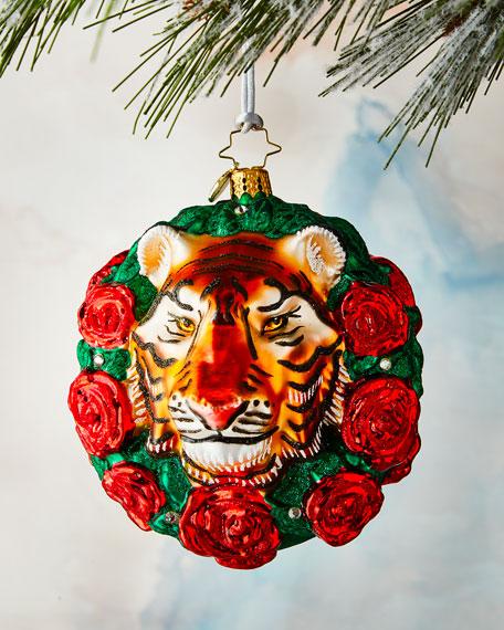 Christopher Radko Fierce Feline Ornament