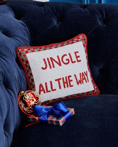 Jingle All The Way Pillow
