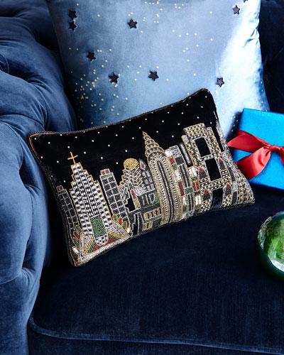 NYC Skyline Pillow