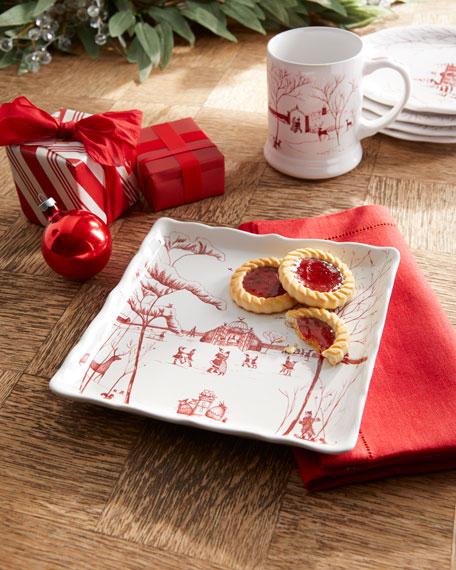 Juliska Country Estate Winter Frolic Sweets Tray
