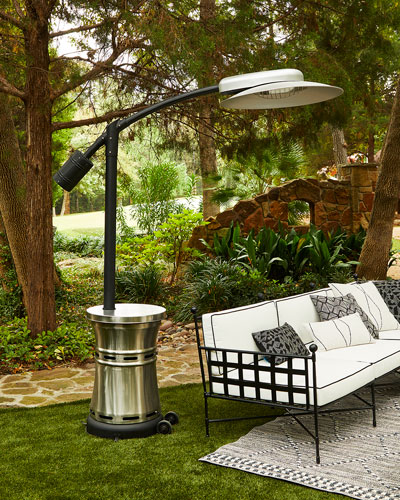 Curve Infrared Patio Heater  Bronze