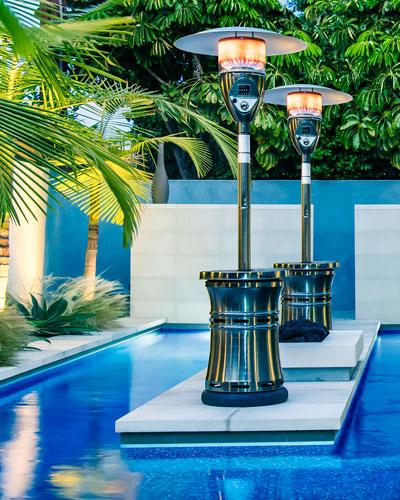 Halo Patio Heater, Bronze