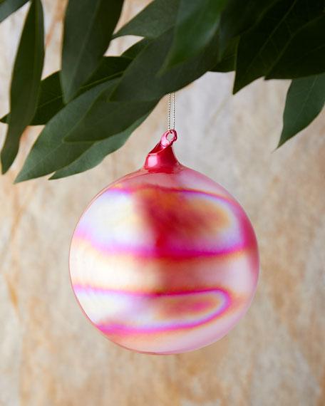120mm Pearl Glass Ball Christmas Ornament