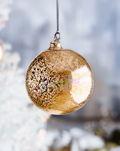 Glass Beaded Ball Ornament