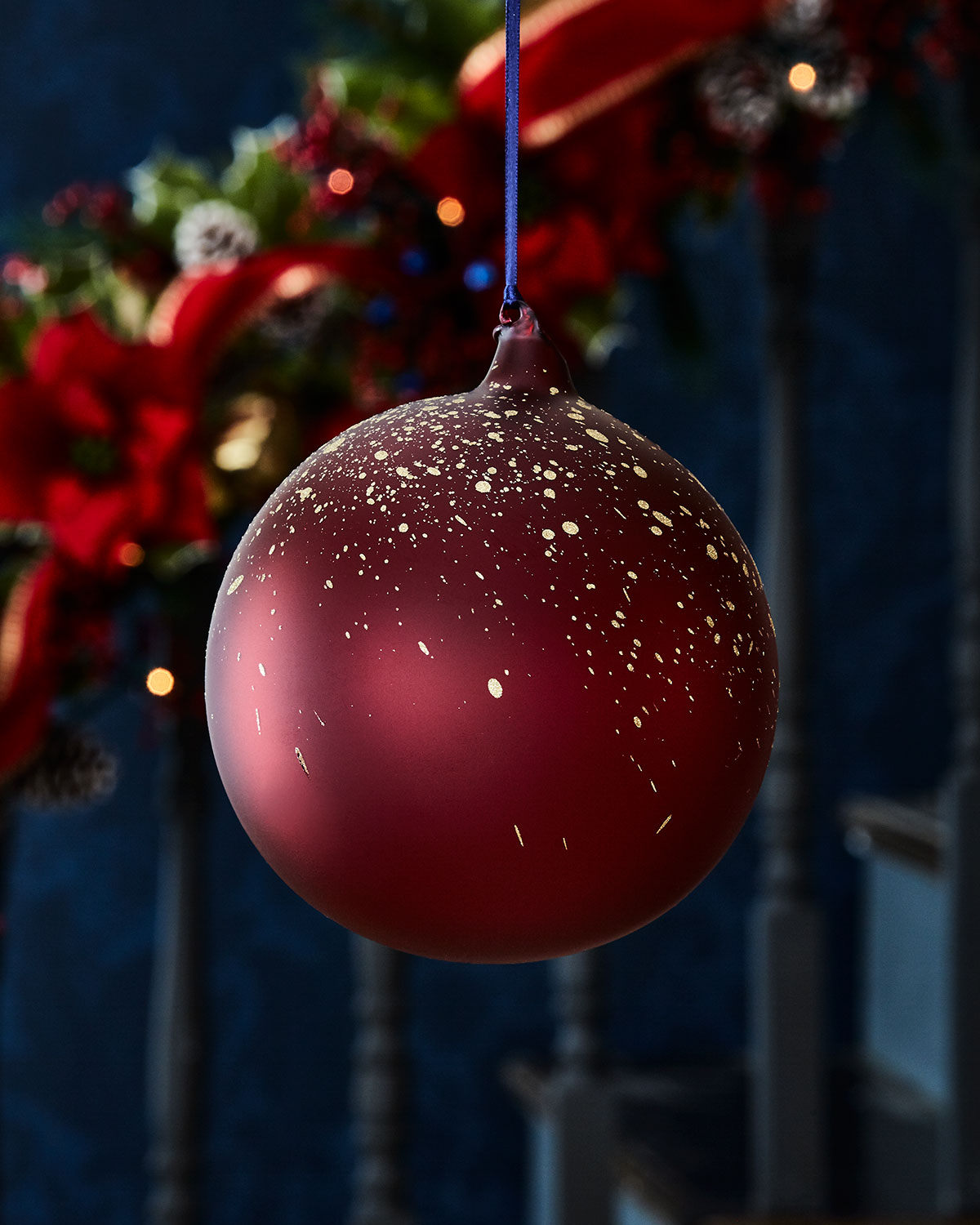 150mm Transparent Glass Ball Christmas Ornament