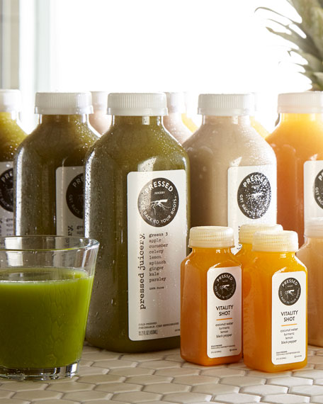 Pressed Juicery Pressed Favorites Bundle and Shots