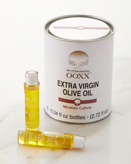 OOXX - Olive Oil Extra Experience Moraiolo Cultivar Extra Virgin Olive Oil 8-Piece Set