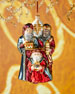Three Wisemen Christmas Ornament