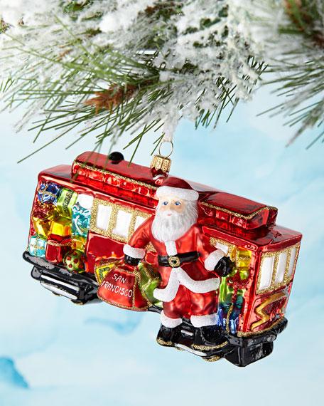 San Francisco Trolley Car Christmas Ornament