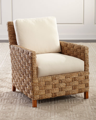 Natia Seagrass Accent Chair