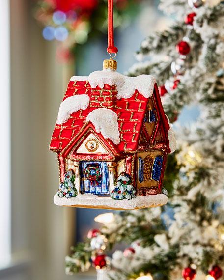 Chalet Christmas Ornament