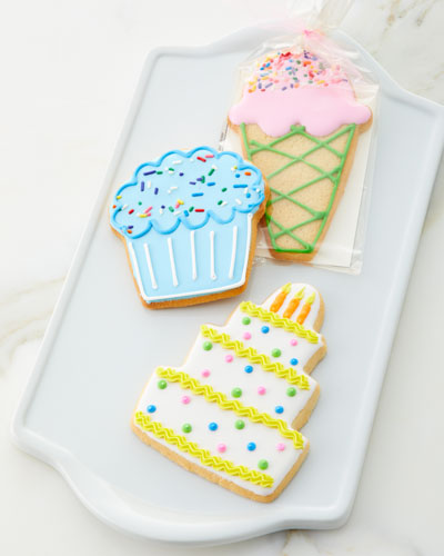 Hand Decorated Fun Day Butter Cookies
