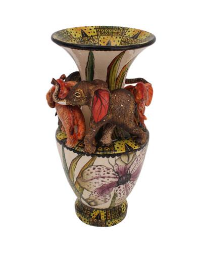 Elephant Vase
