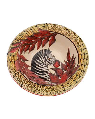 Zebra Plain Bowl