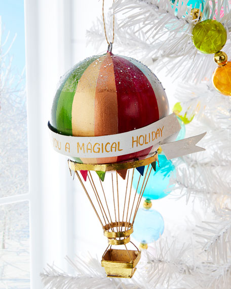 Cody Foster & Co Hot Air Balloon Ornament