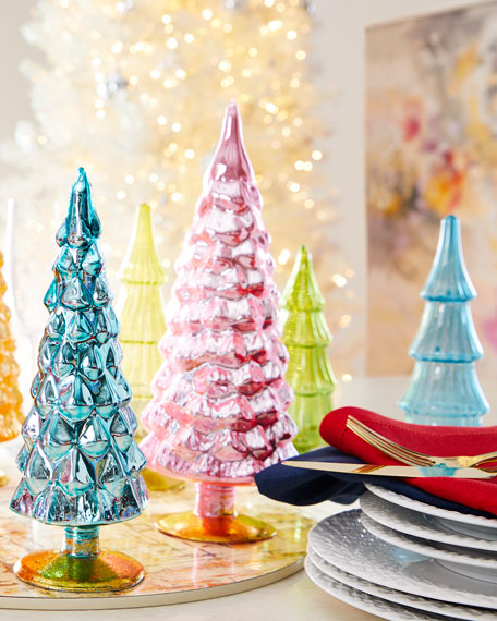 Cody Foster & Co Green Hue Trees, Set of 5