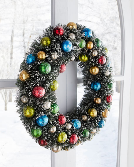 Cody Foster & Co Classic Color Wreath