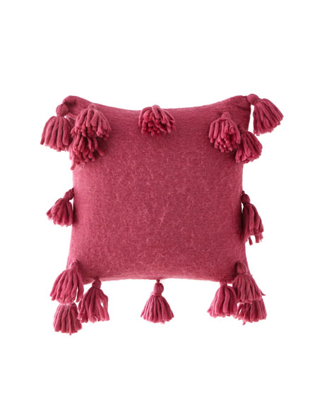 Design Source Reese Tassels Pillow