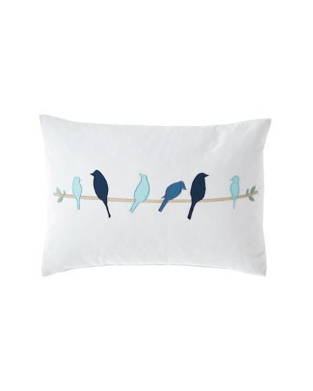 Design Source Bright Birds Pillow