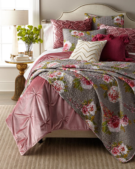 Design Source Lyla 3-Piece King Quilt Set