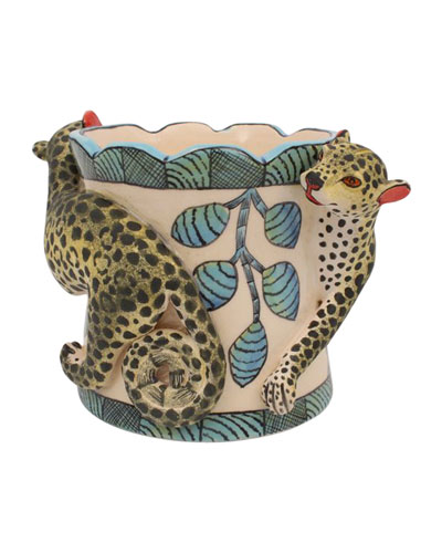 Leopard Pencil Holder