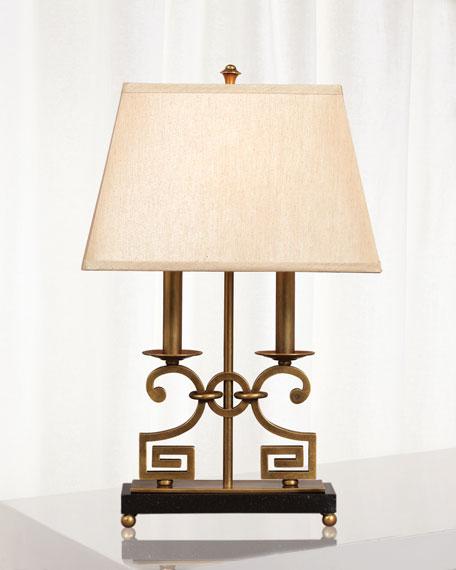 Port 68 Whitney Brass Desk Lamp