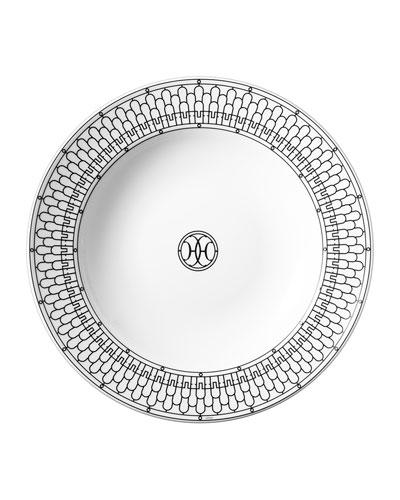 H Deco Round Deep Platter