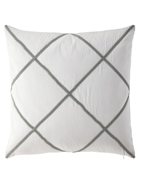 Austin Horn Collection Hannah Faux Silk European Sham