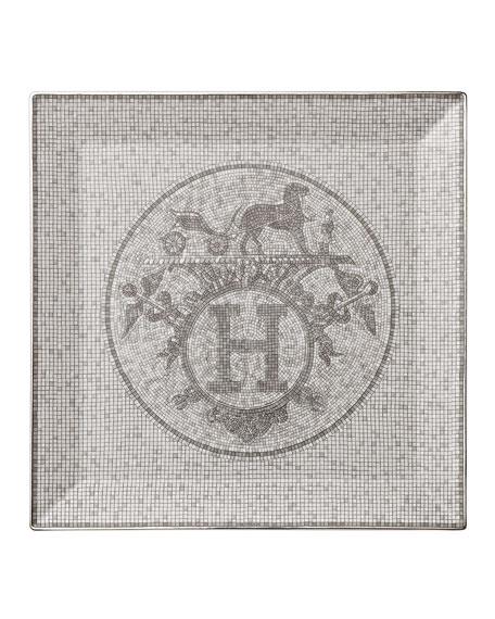 Hermès Mosaique Au 24 Square Plate