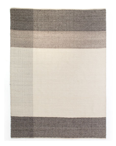 Mac Hand-Loomed Dhurrie Rug, 8' x 10'