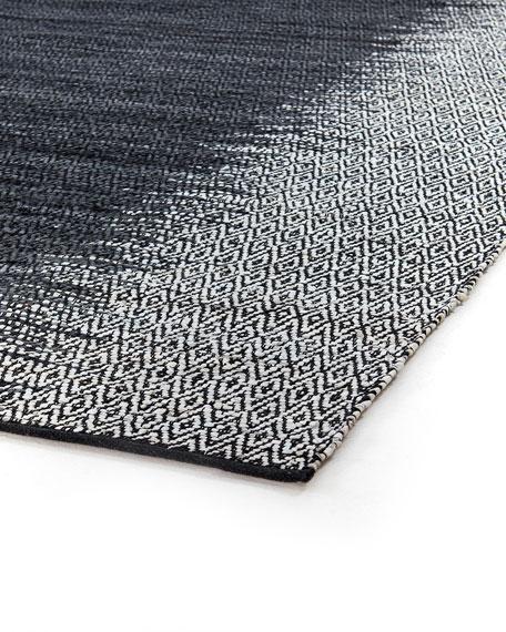 Eli Leather Ombre Rug, 8' x 10'