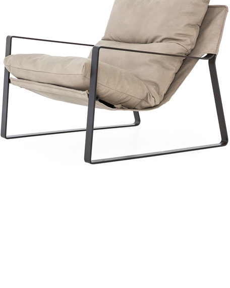 Ena Sling Leather Chair