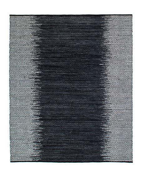 Eli Leather Ombre Rug, 9' x 12'